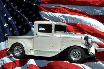 Photograph - 1932 Ford Pickup by Tim McCullough