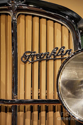 Photograph - 1932 Franklin by Dennis Hedberg