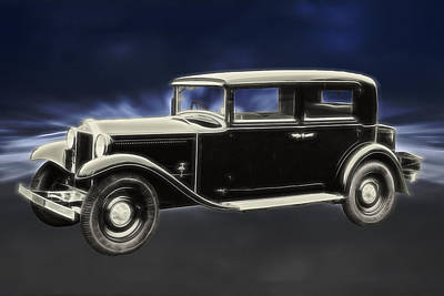 Digital Art - 1932 Lancia Artena by John Haldane