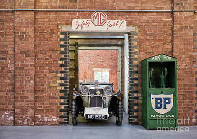 Photograph - 1932 Mg by Tim Gainey