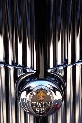 Photograph - 1932 Packard 12 Convertible Victoria Emblem by Jill Reger