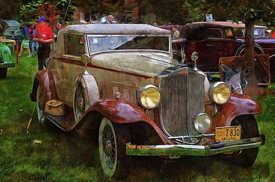 Photograph - 1932 Packard 900 by Thom Zehrfeld