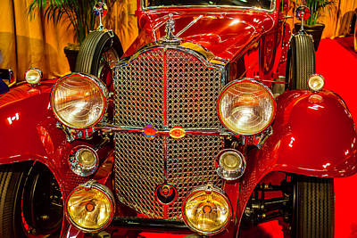 American Automobiles Photograph - 1932 Packard Model 902 by Garry Gay