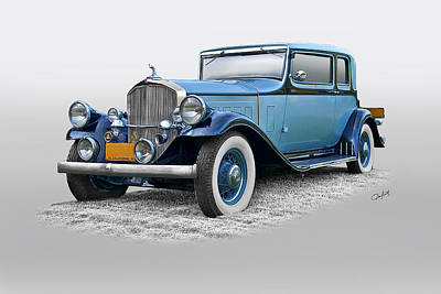 Automotive Art Series Wall Art - Photograph - 1932 Pierce Arrow 54 Club Brougham by Dave Koontz