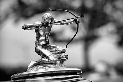 1932 Pierce Arrow Hood Ornament Print by Gordon Dean II