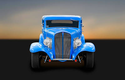 Photograph - 1932 Pontiac Coupe   -  32-pontcp175 by Frank J Benz