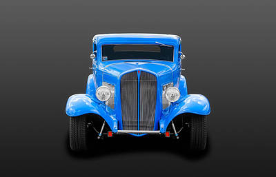Photograph - 1932 Pontiac Coupe  -   32-pontcpe275 by Frank J Benz