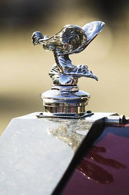 Photograph - 1932 Rolls-royce Hood Ornament by Jill Reger