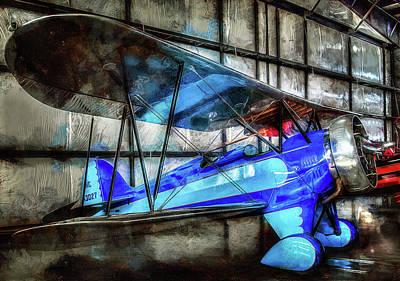Photograph - 1932 Waco Biplane by Thom Zehrfeld