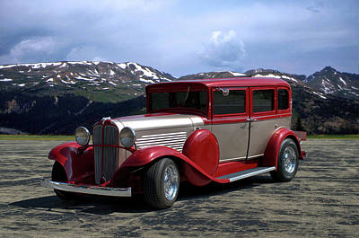 Photograph - 1932 Willys Knight Sedan by TeeMack