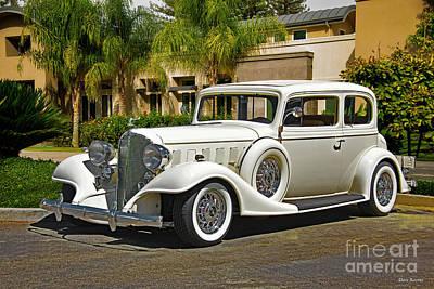 Automotive Art Series Wall Art - Photograph - 1933 Buick Series 86 Victoria I by Dave Koontz