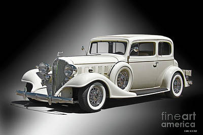 Automotive Art Series Wall Art - Photograph - 1933 Buick Series 86 Victoria 'studio' IIi by Dave Koontz