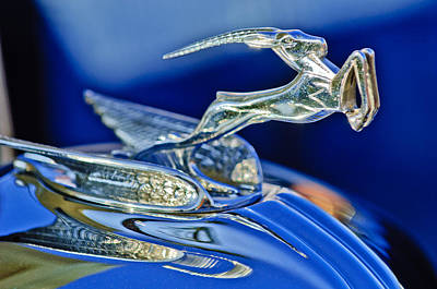 Hoodie Photograph - 1933 Chrysler Imperial Hood Ornament by Jill Reger