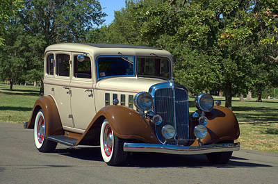 Photograph - 1933 Chrysler Touring Sedan by Tim McCullough