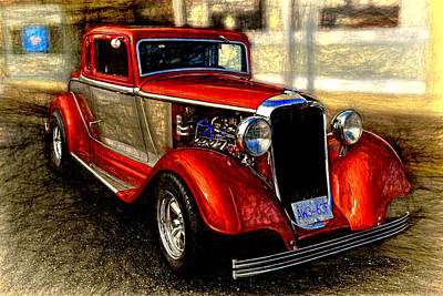 Digital Art - 1933 Dodge Coupe by Richard Farrington