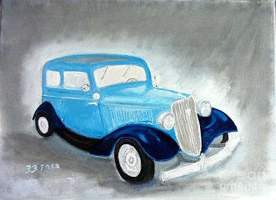 Painting - 1933 Ford by Rod Jellison