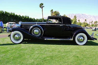 Photograph - 1933 Marmon V-16 Convertible by Bill Dutting