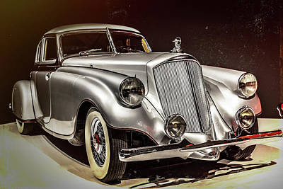 Photograph - 1933 Pierce-arrow Silver Arrow by Wade Brooks