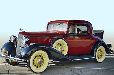 Photograph - 1933 Pontiac by Bill Dutting
