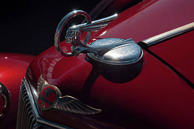 Photograph - 1933 Pontiac Chief Hood Ornament by Chris Flees