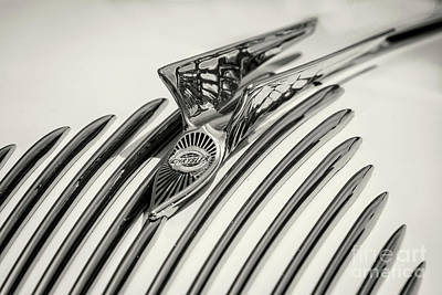 Photograph - 1934 Airflow Hood Ornament by Dennis Hedberg