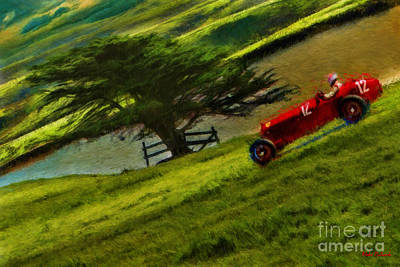 Photograph - 1934 Alfa Romeo Country Drive by Blake Richards