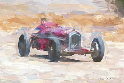 Digital Art - 1934  Alfa Romeo Tipo B by Roger Lighterness