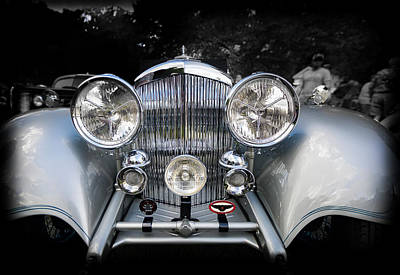 Photograph - 1934 Bentley Drop Head Coupe by Jack R Perry
