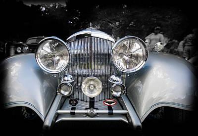 1934 Bentley Drop Head Coupe Art Print