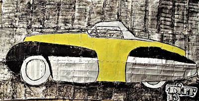 Mixed Media - 1934 Chevrolet Prototype by William Tilton
