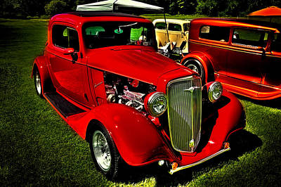 Automobiles Photograph - 1934 Chevy - Classic Street Rod by David Patterson