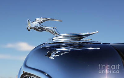 Photograph - 1934 Chrysler Hood Ornament by Kevin McCarthy