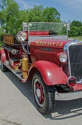 Photograph - 1934 Dodge Pirsch by Susan McMenamin