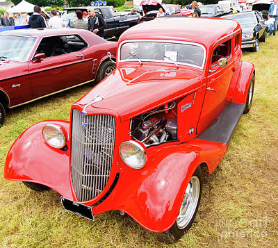 Photograph - 1934 Ford by Colin Rayner