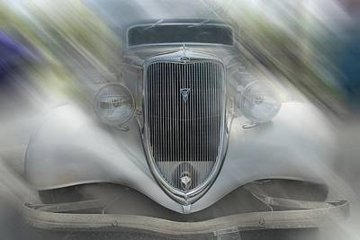 Photograph - 1934 Ford Coupe by Louis Ferreira