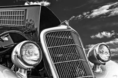 Photograph - 1934 Ford Frontend  by Imagery by Charly