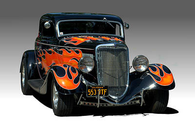 Photograph - 1934 Ford Hot Rod California Kid II by Tim McCullough
