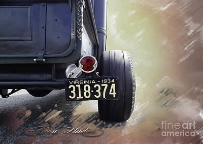 Photograph - 1934 Ford Pickup by Melissa Messick