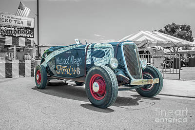 Photograph - 1934 Ford Roadster by Tony Baca