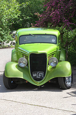 Photograph - 1934 Ford Street Hot Rod by Terri Waters