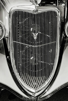 Photograph - 1934 Ford Street Rod Classic Car 5545.66 by M K Miller