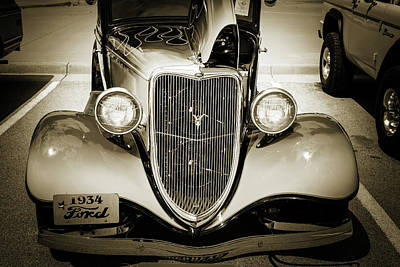 Photograph - 1934 Ford Street Rod Classic Car 5545.67 by M K Miller