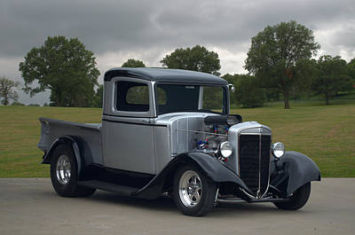 Photograph - 1934 International Pickup Truck Hot Rod by Tim McCullough