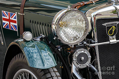 Photograph - 1934 Mg Roadster by Dennis Hedberg