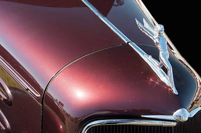 Photograph - 1934 Oldsmobile Goddess Hood Ornament by Chris Flees