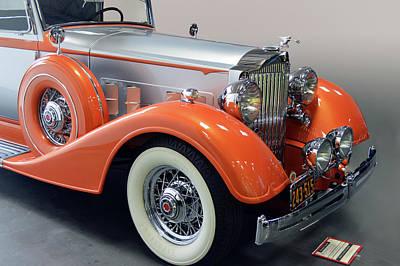 Photograph - 1934 Packard 8  by Bill Dutting