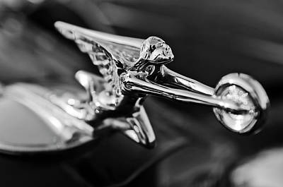 1934 Packard Hood Ornament 2 Art Print by Jill Reger