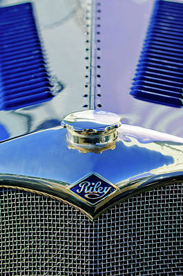Hoodies Photograph - 1934 Riley Hood Ornament by Jill Reger
