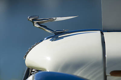 Photograph - 1935 Auburn Hood Ornament 3 by Jill Reger