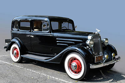 Photograph - 1935 Chevrolet by Bill Dutting